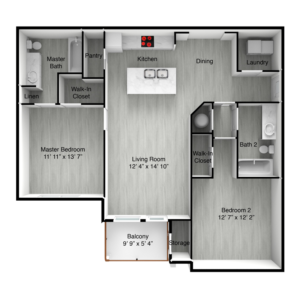 The Bahama floor plans