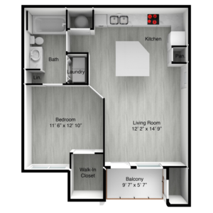 Montego floor plan